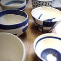陶芸体験「オリジナルそば猪口作り」