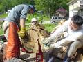 夏休みの3日間。小濁で薪割り活動の参加募集します