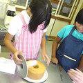 ななちゃん、しゅうこちゃん シフォンケーキ作って食べるの巻
