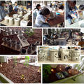 土とあかりの不思議体験。粘土で作るランプシェード